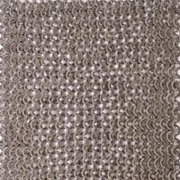 Chainmail Aventail Flat Ring Wedge Rivets /Solid Rings, 8mm I.D